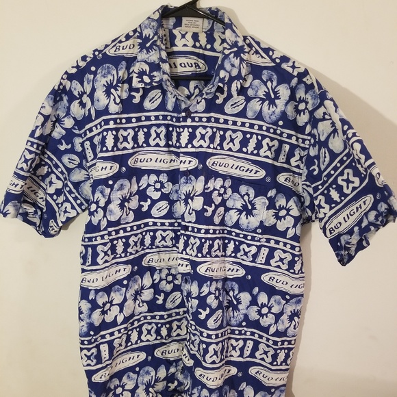 94d5186ac rum reggae Shirts | Bud Light Hawaiian Shirt | Poshmark